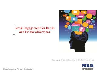 Social Engagement for Banks and Financial Services