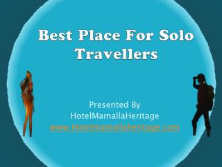 Best Place For Solo Travellers