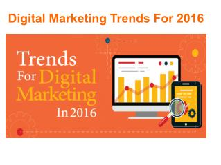 Top Digital Marketing Trends - Samaven