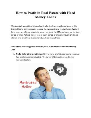 BAY MOUNTAIN CAPITAL - Hard money lenders in Houston Region