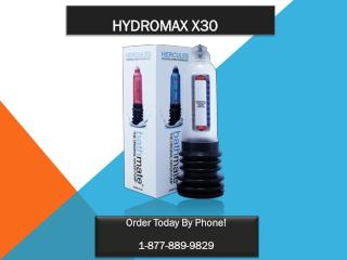 The Bathmate Hydromax X30