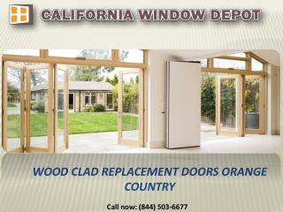 Wood Clad Replacement Doors in Orange Country