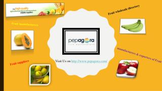 Fresh Fruits manufacturer, supplier, wholesale directory in india