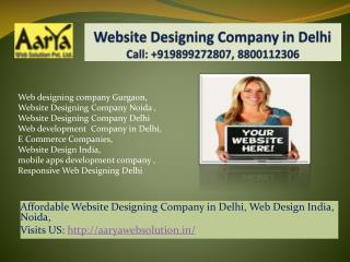 Web Designing Company Gurgaon, Noida,Delhi, Web Development Company in Delhi
