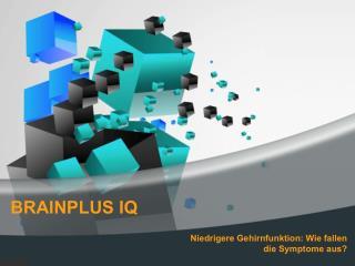 Kaufen BrainPlus IQ Informationen
