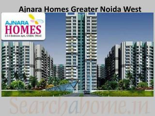 Ajnara Homes Residential Project in Greater Noida West