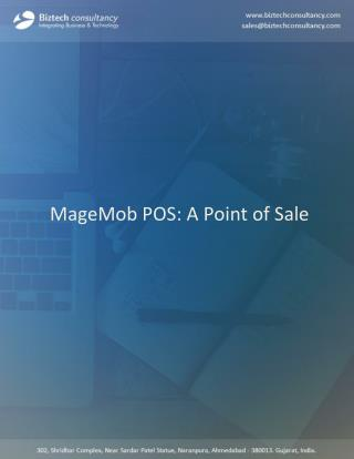 MageMob POS: Magento Point of Sale Extension