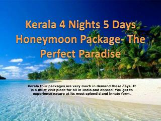 Kerala Honeymoon Package | Kerala Tour Packages