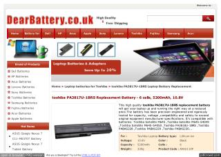 http://www.dearbattery.co.uk/toshiba-pa3817u-1brs-battery.html