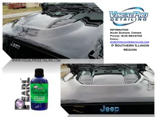 At Southern Illinois region, Visual Pro Detailing for your Car Care Matter.