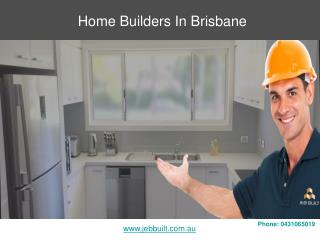 Home Builders In Brisbane