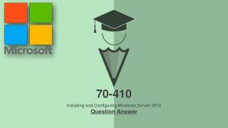 Examcollection 70-410 VCE
