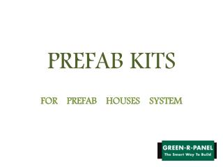 Prefab Homes | Greenrpanel