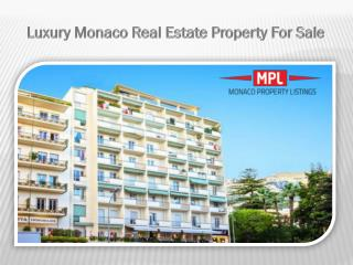 Luxury Houses In Monaco For Sale