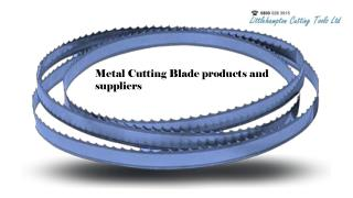 Metal Cutting Blade products and suppliers