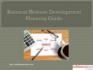Business Website Development Planning Guide
