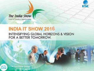 IndiaSoft 2016 - Meet CDN Software Solutions