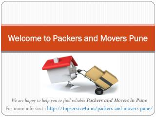 Packers and movers pune @ http://topservice4u.in/packers-and-movers-pune/
