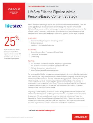 LifeSize Fills the Pipeline with a Persona-Based Content Strategy
