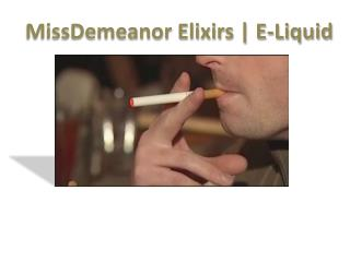 MissDemeanor Elixirs | E-Liquid - Wholesale Vape Supply US Based Wholesale Vape Supply