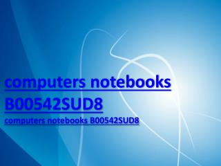 computers notebooks B00542SUD8