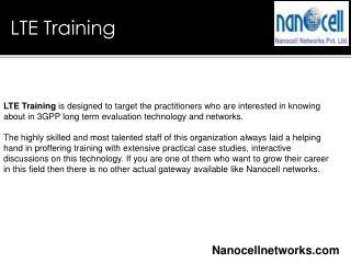 LTE Training