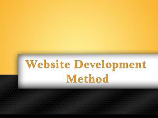 Website Development Method