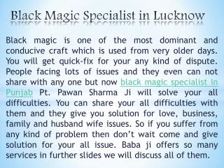 Black magic specialist in Lucknow