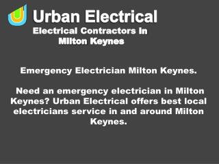 Emergency Electrician Milton Keynes