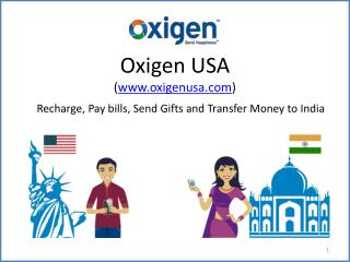 Oxigen USA – Recharge, Pay Bills, Send Gifts, and Transfer Money to India