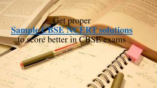 CBSE NCERT solutions - Genextstudents