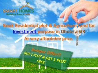 Investment in Dholera SIR : Make Your Future Bright