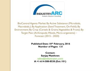 BioControl Agents Market By Active Substance Macrobials