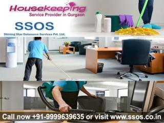 SSOS affordable housekeeping service provider Gurgaon