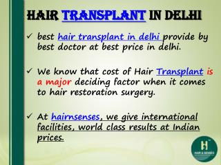 Hair Transplant in Delhi - Repair Hair Transplants