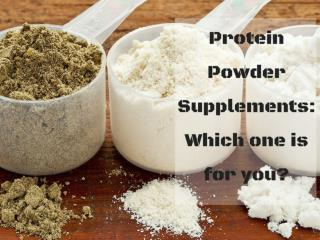 How To Choose Protein powder supplements Wisely