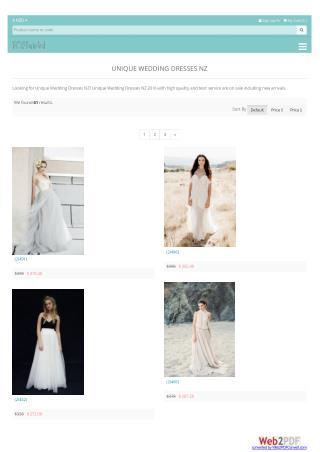 online wedding dresses