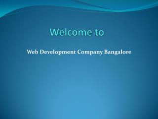 website development Bangalore