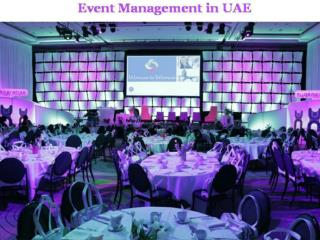 Event Management Services in UAE