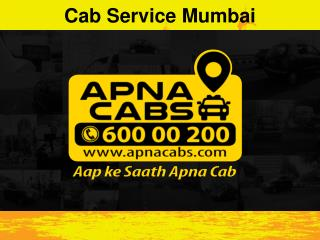 Cab Service Mumbai