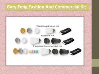 Gary Fong Fashion And Commercial Kit