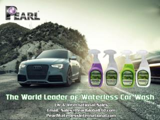 Pearl Waterless with High Performance Car Care Products