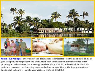 Kerala Tour Packages - Holiday in Natural Vacation