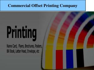 Day & Night Commercial Offset Printing Company