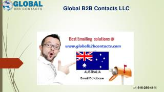 Australia Business Email Database