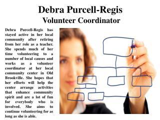DebraPurcell-Regis Volunteer Coordinator