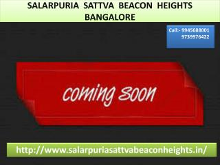 Salarpuria Sattva Beacon Height