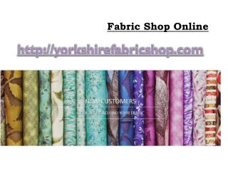 Fabric Shop Online
