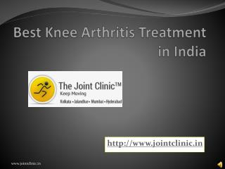 Best Knee Arthritis Treatment in India
