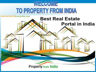 Property From India is the best real estate portal